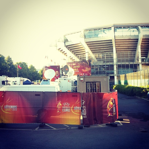 Gothenburg Stadium. Photo: Danielle Warby