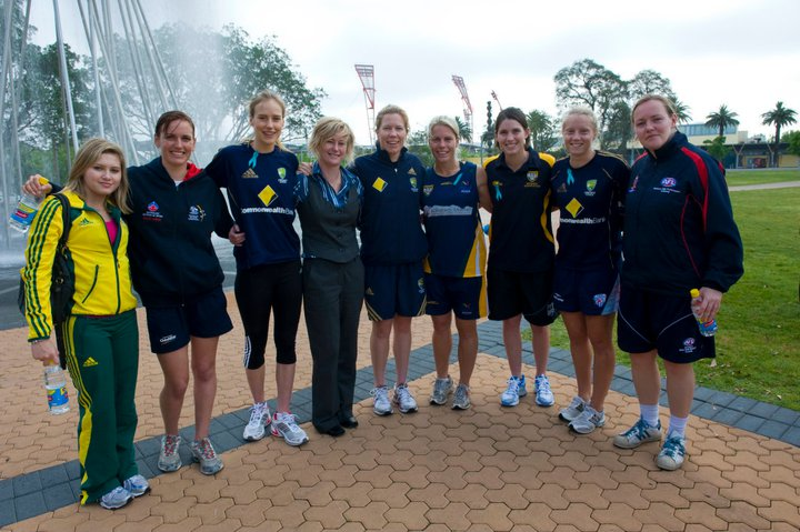 How can you support women in sport?