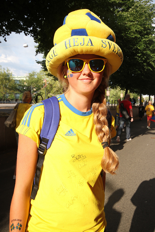 Swedish Fan. Photo: Danielle Warby
